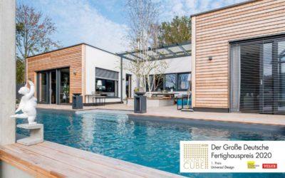 """Der grosse deutsche Ferighauspreis """"Golden Cube"""" für Griffner"""