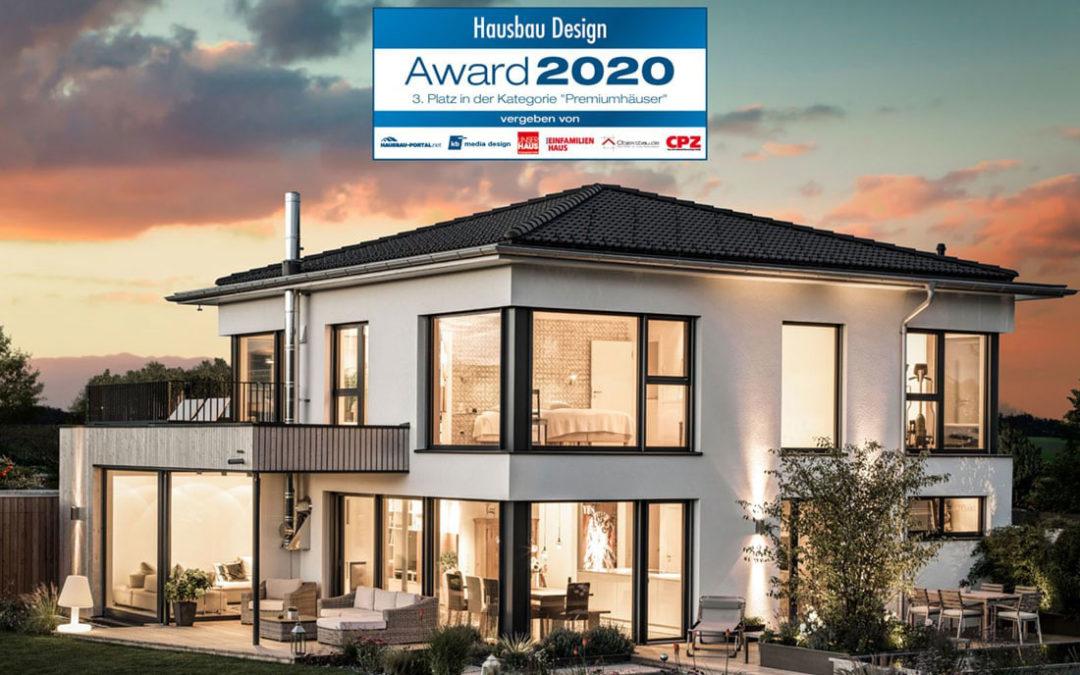GRIFFNER_Premiumhaus_Kundenhaus_Aussen_mitBatch-award-2020