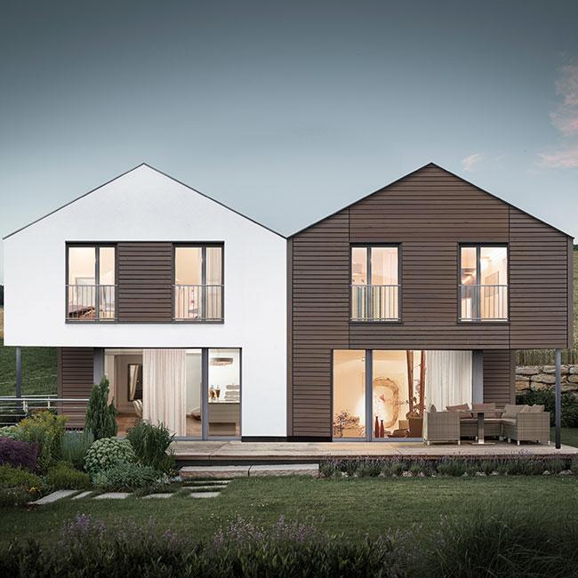 Architektur-Griffner-Townhouse-Doppelhaus